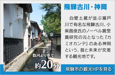 飛騨古川・神岡観光