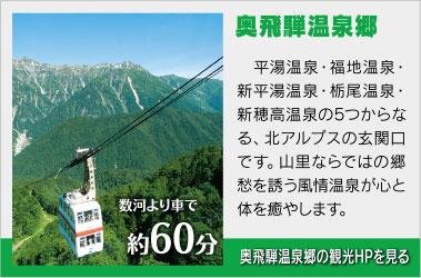 奥飛騨温泉郷観光